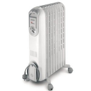 De'Longhi Vento VV550920 Electric Oil Filled Radiator
