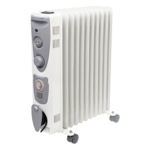 Prem-I-Air 2.5kW Model 11 Fin Oil Filled Radiator