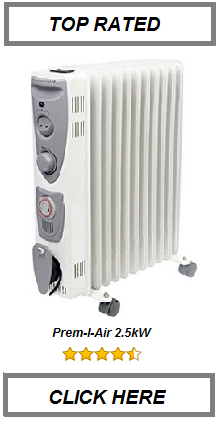 TOP RATED OIL FILLED RADIATOR